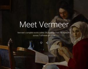 Titelseite Vermeer Projekt